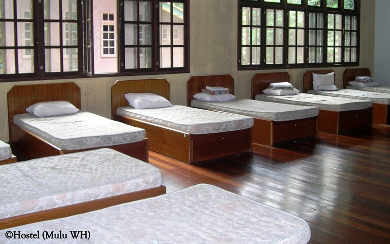 Hostel at Mulu National Park