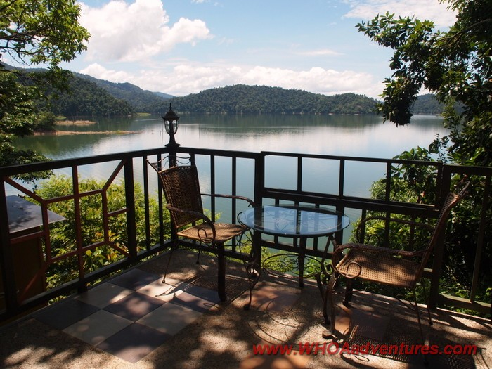 Belum Eco Resort 'A' Chalet Balcony Lake View