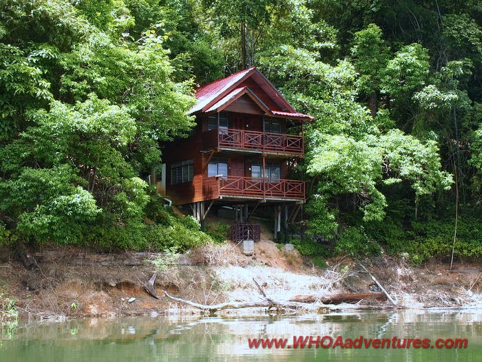 Belum Eco Resort Dormitory facing the lake