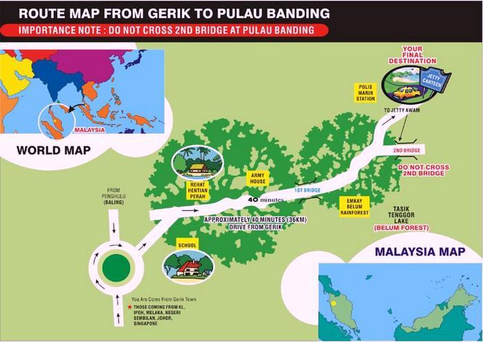 Banding Island Resort Package