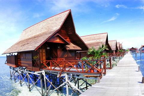 Kapalai dive resort off semporna town sabah whoa - Sipadan kapalai dive resort ...