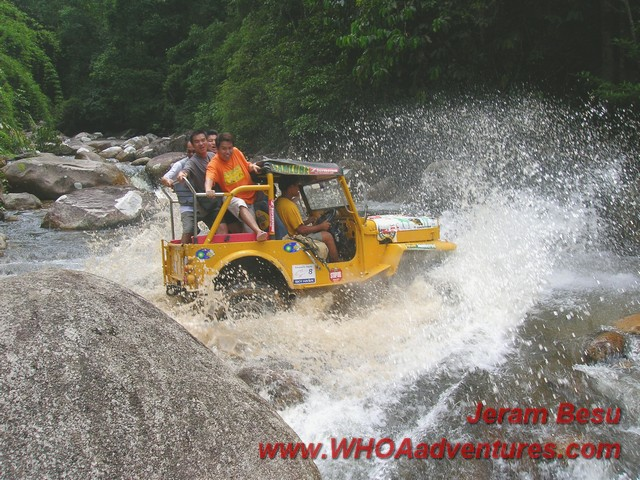 4wd action at Jeram Besu