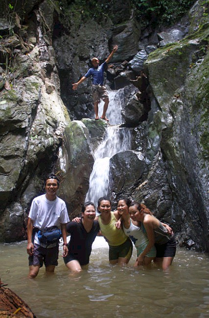 Liwagu adventure waterfall!